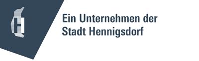 Logo und Link zur Homepage der Stadt Hennigsdorf